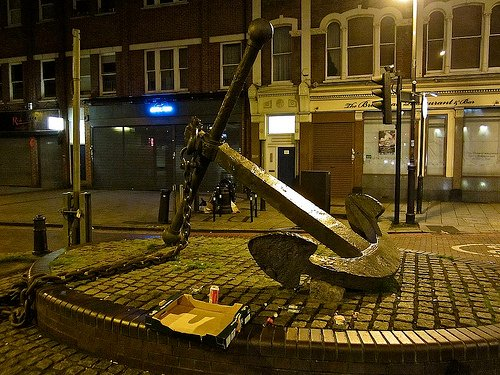 anchor at night
